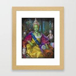 the Candy Queen / Madame de Bonbonniere Framed Art Print