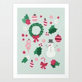 Christmas Overload Art Print