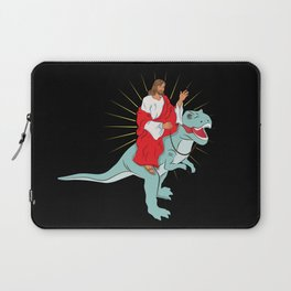Funny Christian Evolution Shirt Gift For Communion Laptop Sleeve