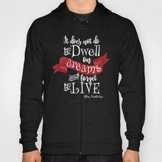 Dwell on Dreams - Black Hoody