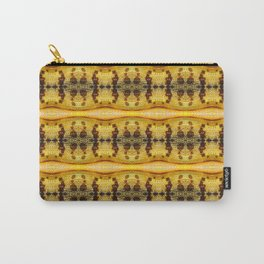 Yellow Locust Carry-All Pouch
