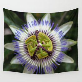 Passion Flower Wall Tapestry