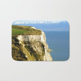 Chalky White Cliffs  Bath Mat