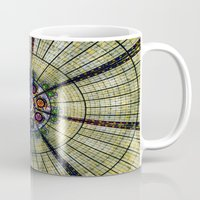 kaleidoscope Mugs featuring Kaleidoscope   by Laura George