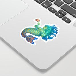 Mandarin Mermaid Sticker