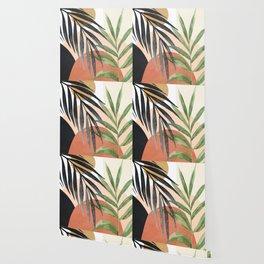 Abstract Tropical Art VI Wallpaper