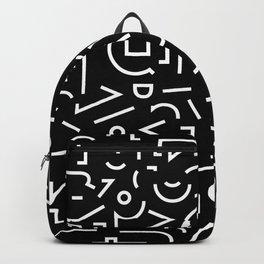 Favorite Shape black Backpack