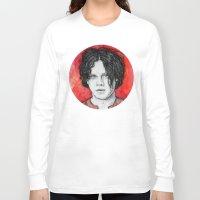 jack white Long Sleeve T-shirts featuring Jack White by Sosha Krosley