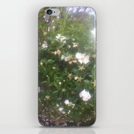 a new floral perspective iPhone Skin