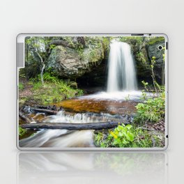 Scott Falls in Spring - Au Train Michigan Laptop & iPad Skin