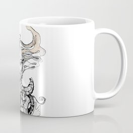 A woman as a sign Taurus Coffee Mug