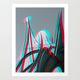 Surreal Montreal 13 Art Print