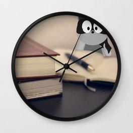 Read, Write & Rico. Wall Clock