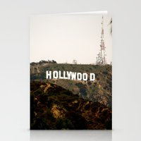 hollywood Stationery Cards featuring Hollywood by Claire Jantzen
