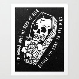 Relapsing Beartooth Art Print
