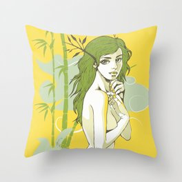 The Strong and The Beautiful Throw Pillow