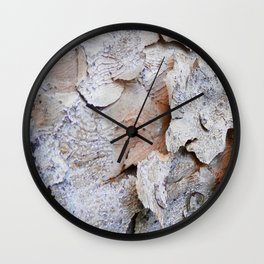 Tree Bark rustic decor Wall Clock
