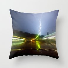 The system is down Throw Pillow