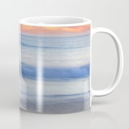 Magical Waves at sunset. Square. Tarifa Beach Coffee Mug