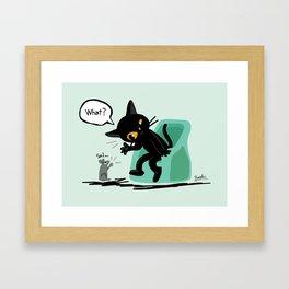 Listen well Framed Art Print