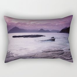 Elgol Beach III Rectangular Pillow