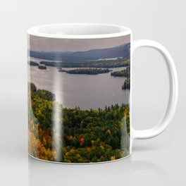 Squam Lake, 5-Finger Point Coffee Mug