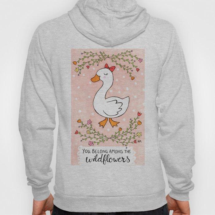 Wildflowers Goose Hoody