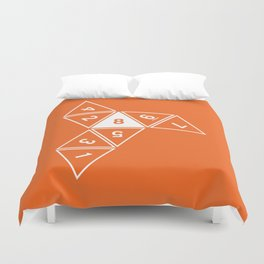 Unrolled D8 Duvet Cover