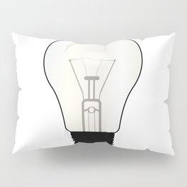 Isolated Light Bulb Pillow Sham