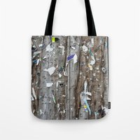 movie posters Tote Bags featuring Posters by jmdphoto