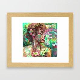 Logan's Poppies Framed Art Print