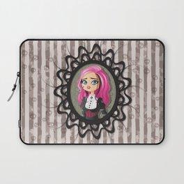 Gothic doll crying Laptop Sleeve