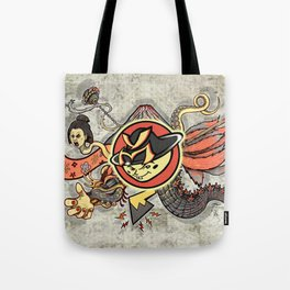 YM Japanese Tails Tote Bag