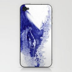 Surf in Ink iPhone & iPod Skin