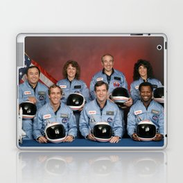 Space Shuttle Challenger Crew, November 1985 Laptop & iPad Skin