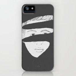 Broken Boy iPhone Case