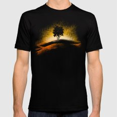 i love trees Mens Fitted Tee Black X-LARGE