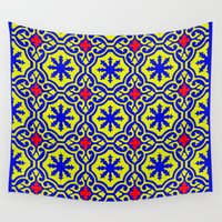 arabic Wall Tapestries featuring Arabic  by Barbo's Art