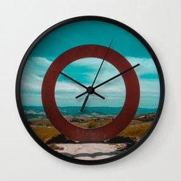 Dark circle Wall Clock