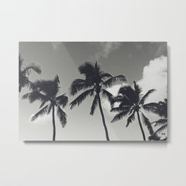In the Palms of Hawaii Metal Print