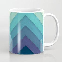 Retro Chevrons 001 Coffee Mug