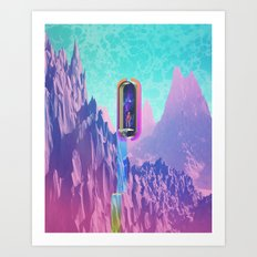 Cosmic Drain Art Print