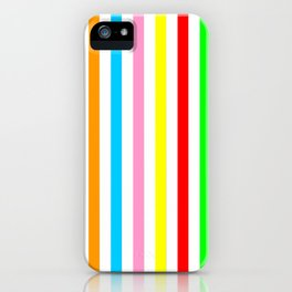 multicolor columns-mutlicolor,abstraction,abstract,fun,line,geometric,geometrical,columns, iPhone Case