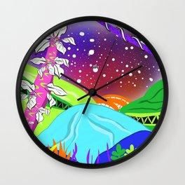 A New Land Wall Clock
