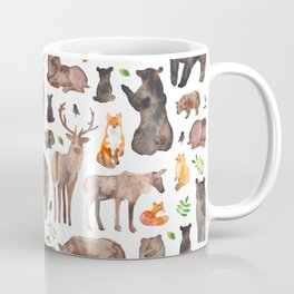 Woodland Animals Coffee Mug