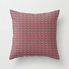 bummed out fly Throw Pillow