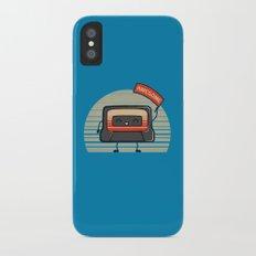 Cute Mix Tape iPhone X Slim Case