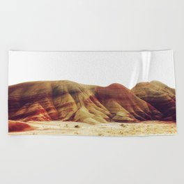Oregon Painted Hills Beach Towel