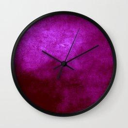 Abstract Cave IX Wall Clock