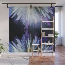Crystalline Geometries Wall Mural